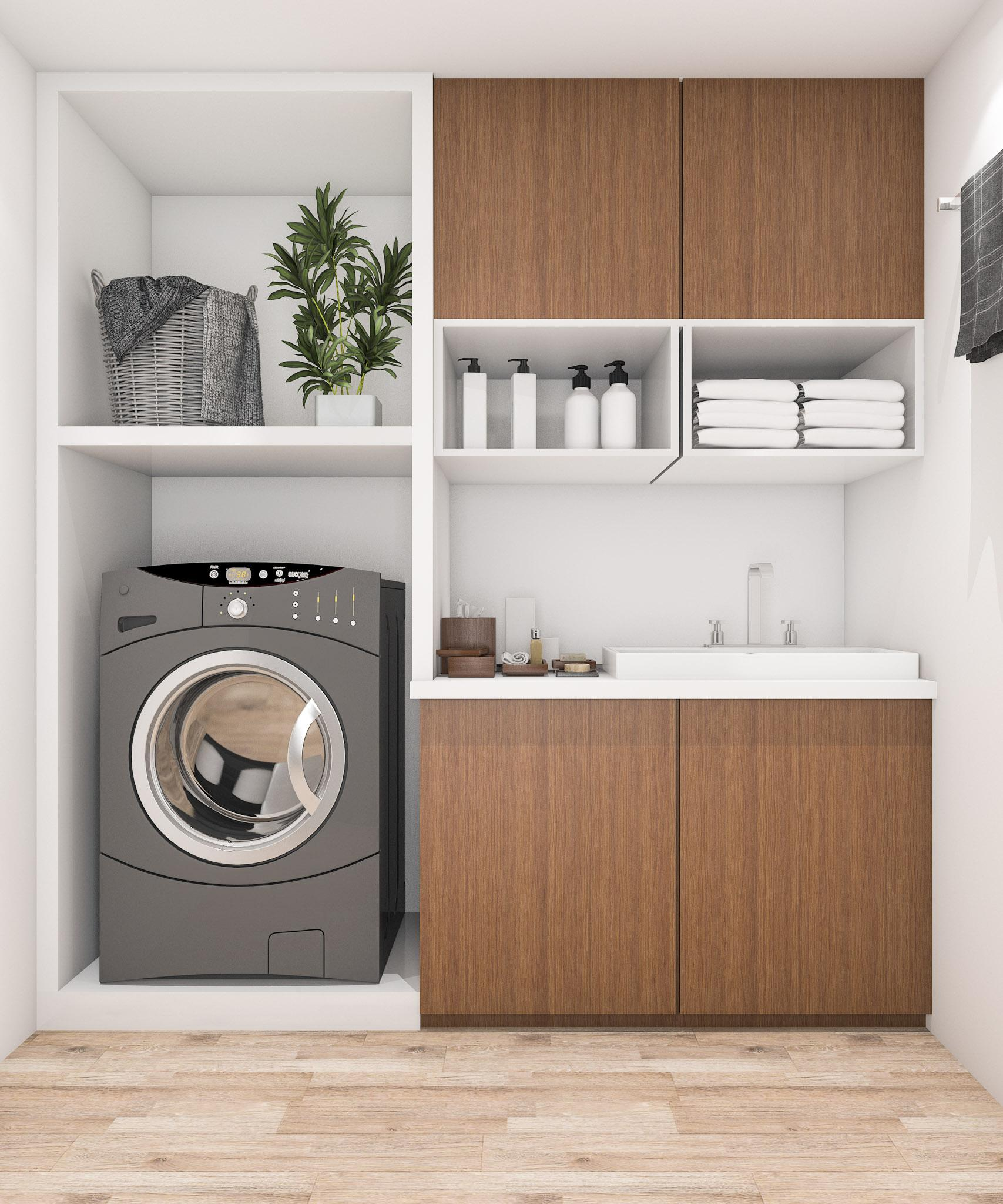 Brighten Your Laundry Room With These 15 Tips Flow Wall