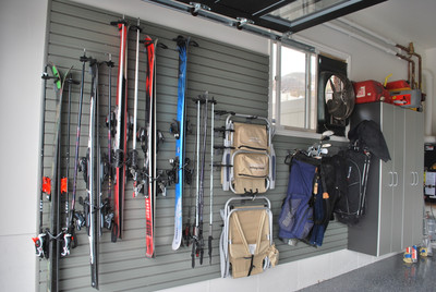 Ski Storage and a Snowboard Wall Rack for the Garage