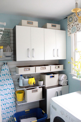 8 Tips for Laundry Room Storage