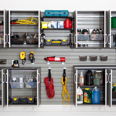 How to Organize Garage Shelves